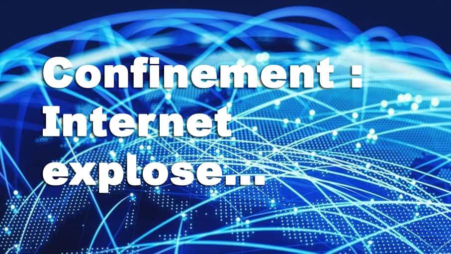 Internet explose