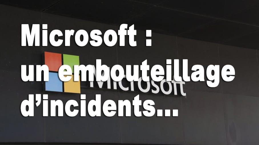 Microsoft incidents