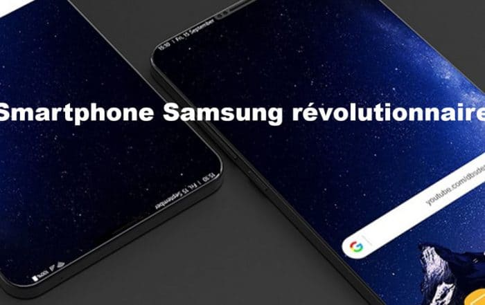 Samsung smartphone révolutionnaire