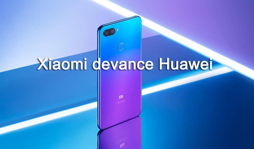 Xiaomi devance Huawei