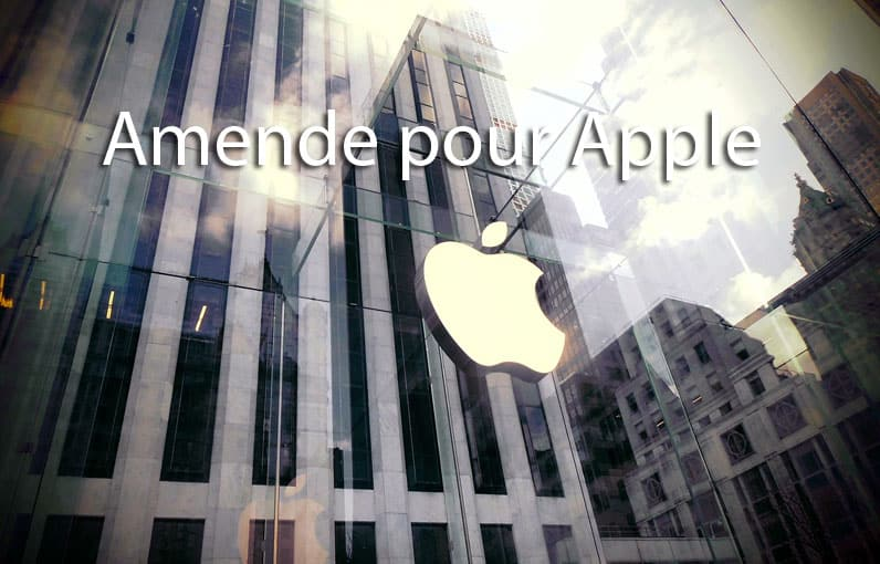 Amende pour Apple en 2020
