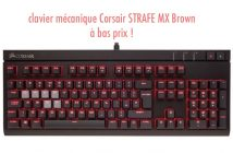 le clavier mécanique Corsair STRAFE MX Brown