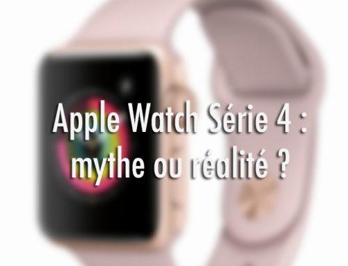 Date de sortie Apple Watch Série4