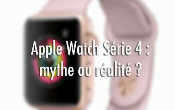 Sortie apple watch 4