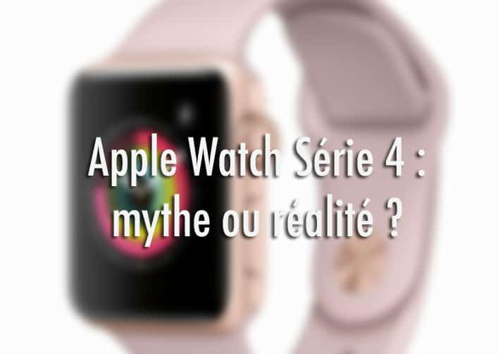 Sortie apple watch 4