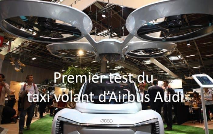 Taxi volant de Airbus et Audi